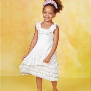 Pixie Girl Chasing Fireflies Cream Blossm Dress 10